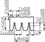 Изоляционные прокладки для кварцевых резонаторов